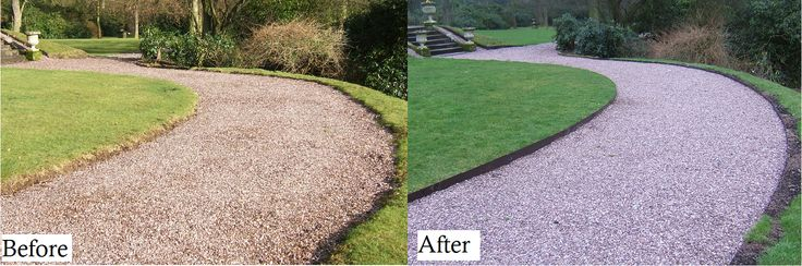 Straighten up path edges with EverEdge steel edging. Quick and easy to install, EverEdge ProEdge will instantly change the appearance of your path edge from chaotic and neglected to neat and tidy.