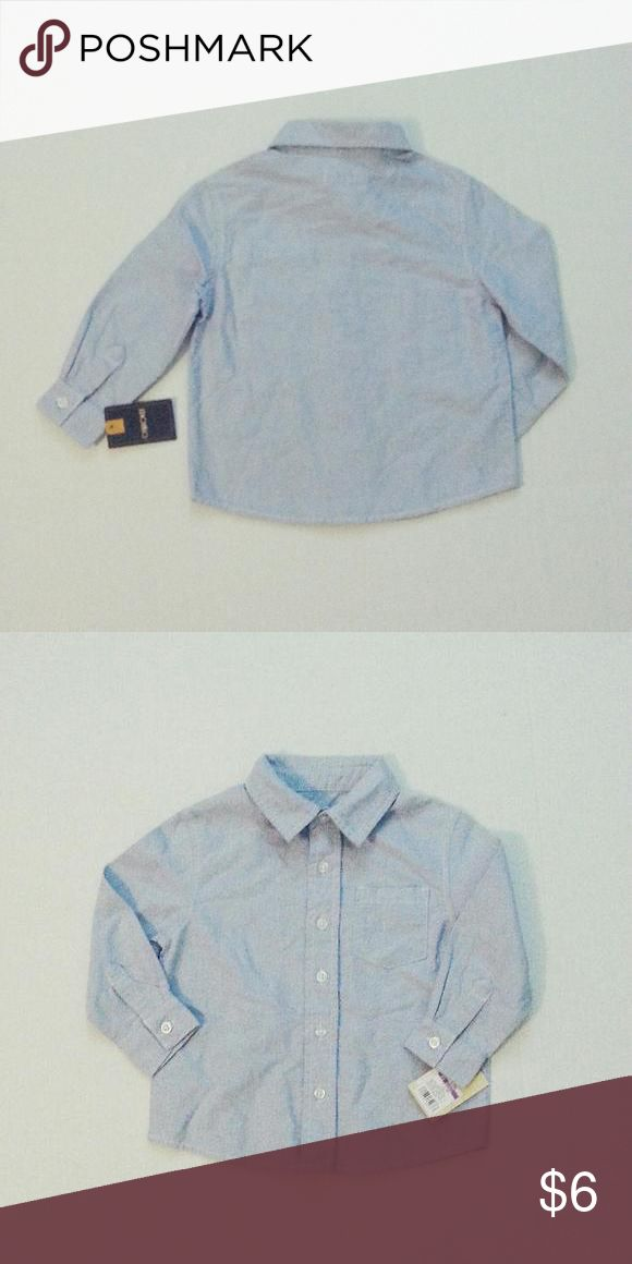 NEW! Chambray Button Down Shirt Perfect basic button down. Great for private schools or dressed up outfits. Cherokee (Target) Shirts & Tops