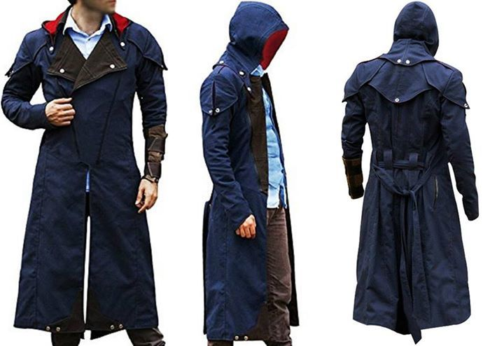 "Assassin's Creed Unity Blue Denim Trench Coat  Shop now: http://ebay.to/2ucmrZ4  Be Stylish in this Cosplay Costume Assassin's Creed Unity Coat. This elegant outfits craft from the popular video game series ""Assassin's Creed Unity"", in which Arno Dorian wore this Coat. Made from the top quality Denim Material. You can get easily from our online store in reasonable price. #assassinscreed #assassins  #assassin #ac #assassinscreeed2 #assassinscreedbrotherhood #assassinscreedrevelations…"