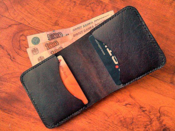 Мужской бумажник, компактный, удобный, стильный, 100% натуральная кожа, ручная работа by BARNxWORKSHOP on Etsy