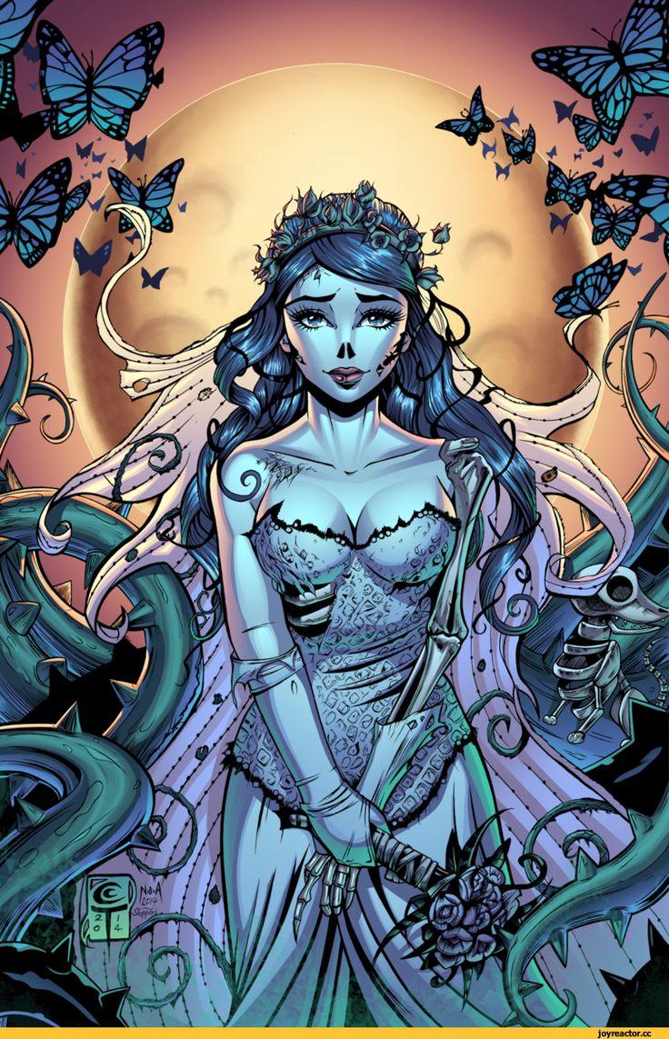 J-Skipper,artist,art,красивые картинки,art барышня,труп невесты,Corpse Bride
