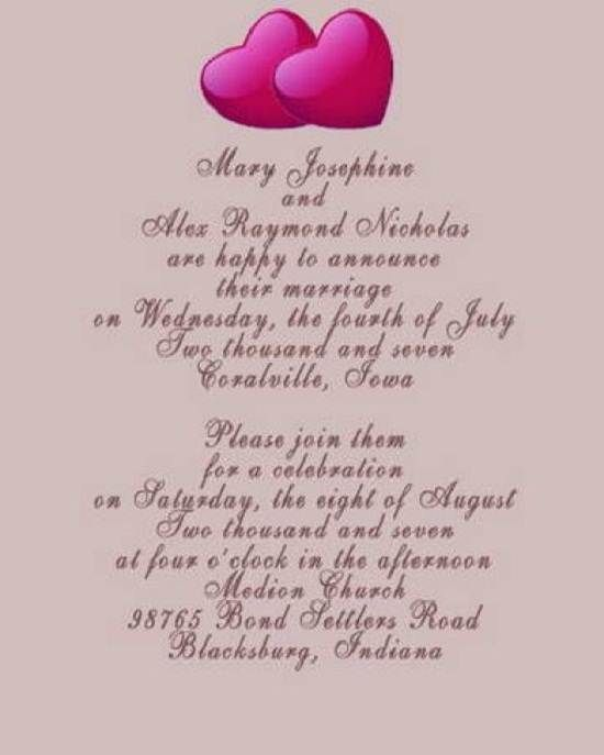49 best wedding invitations images on Pinterest Dream wedding - wedding speech example