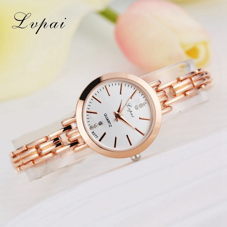 Lvpai Brand Fashion Jewelry Antique Watches Gold Jewelry Bracelet Wristwatch For Women Classic Watch Ladies Luxury Quartz Watch