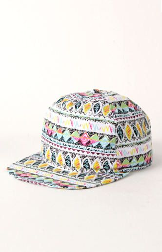Neff Mania Snapback Hat. I'm not sure if I would wear it but it looks super chill and colorful. Just my style. (: