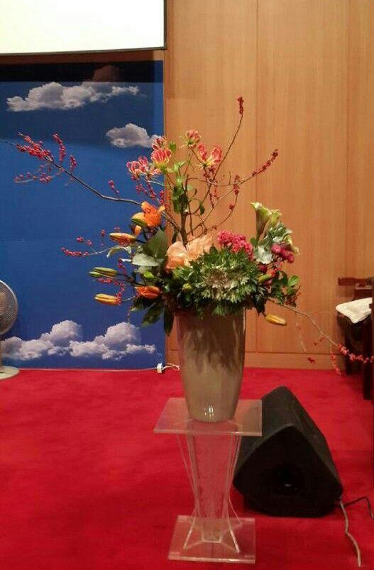 [ 플라워아트21TV - 성전꽃꽂이 동영상강좌 작품 ] ◆ http://fa21tv.com ◆  #성전꽃꽂이#flower#꽃꽂이#churchflower#floral#조유미