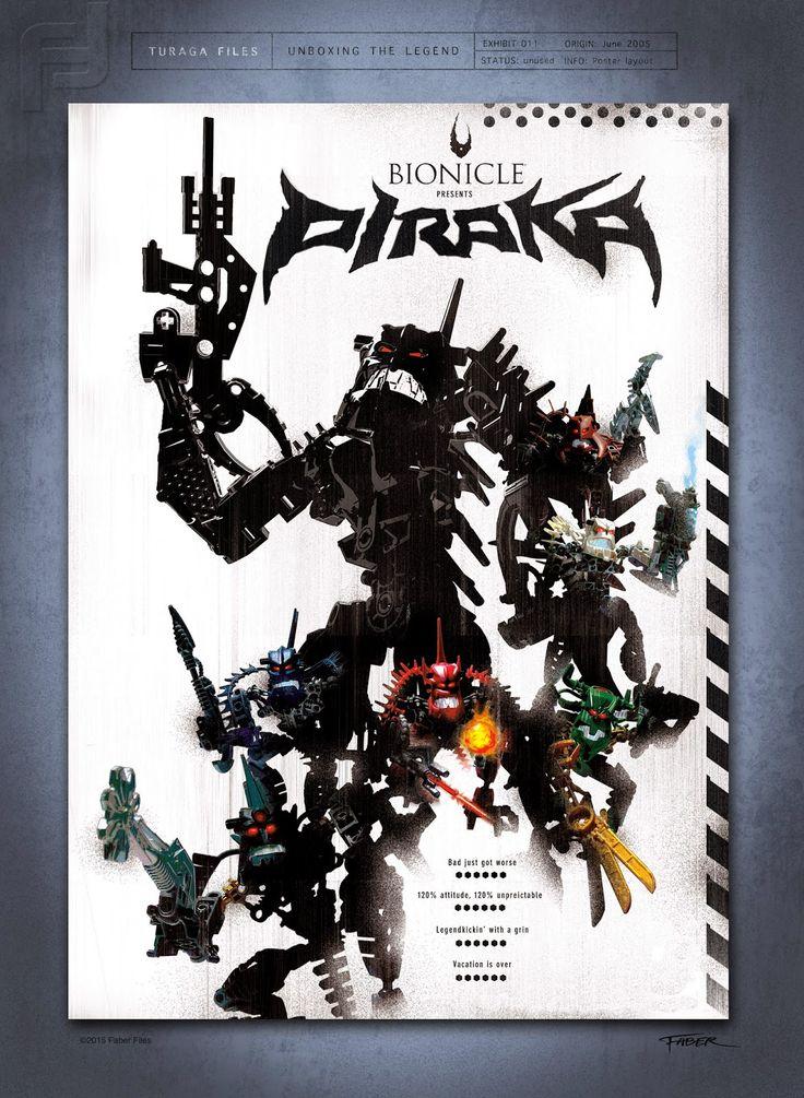 Faber Files_Bionicle Piraka poster
