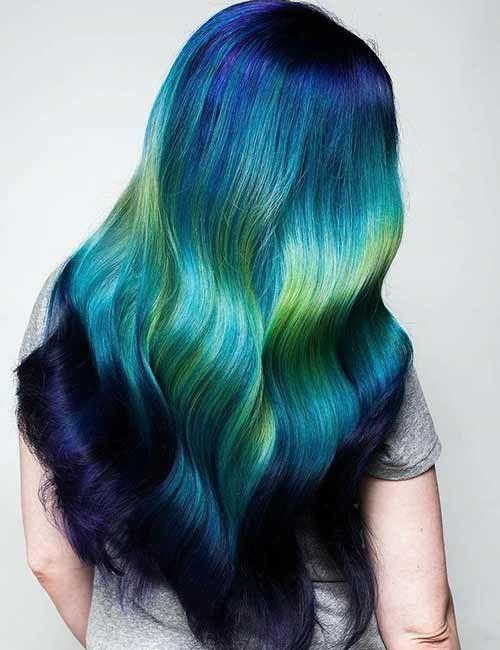 25+ trending Mermaid hair colors ideas on Pinterest ...