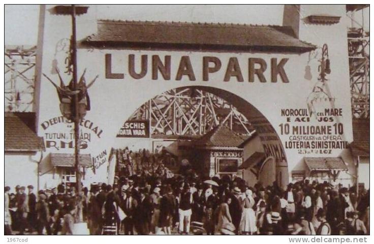 BUCURESTI -  Calea MOSILOR -  LUNA PARK -  Targul MOSI - 1930