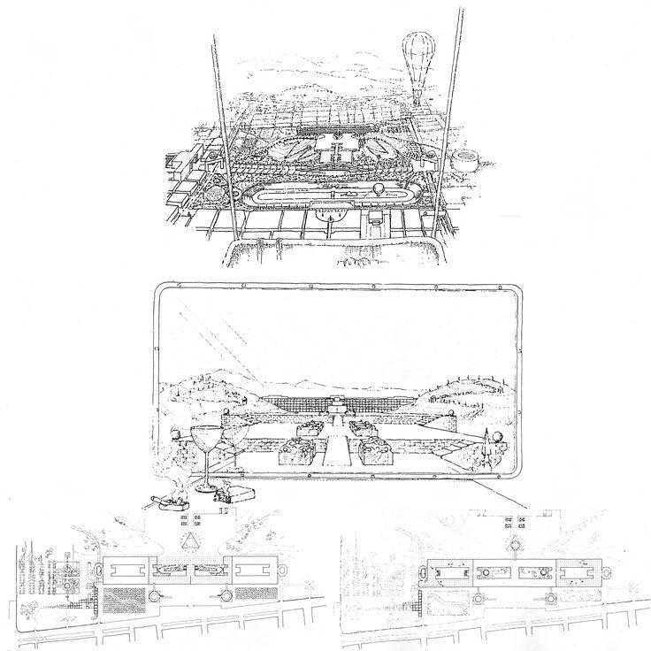 Riconversione Lingotto, James Stirling, 1984, Torino.