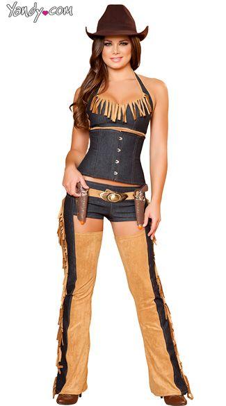 Cute cowgirl costume