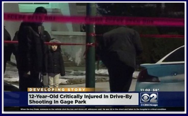 12 Year Old Chicago Shot In The Chest While Playing Tag… For Not Flashing The Latin Kings Gang Sign – BB4SP