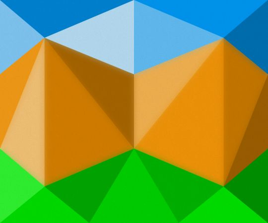 #inkscape #landscape #abstraction #lowpoly