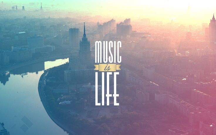 music is my life HD Wallpaper