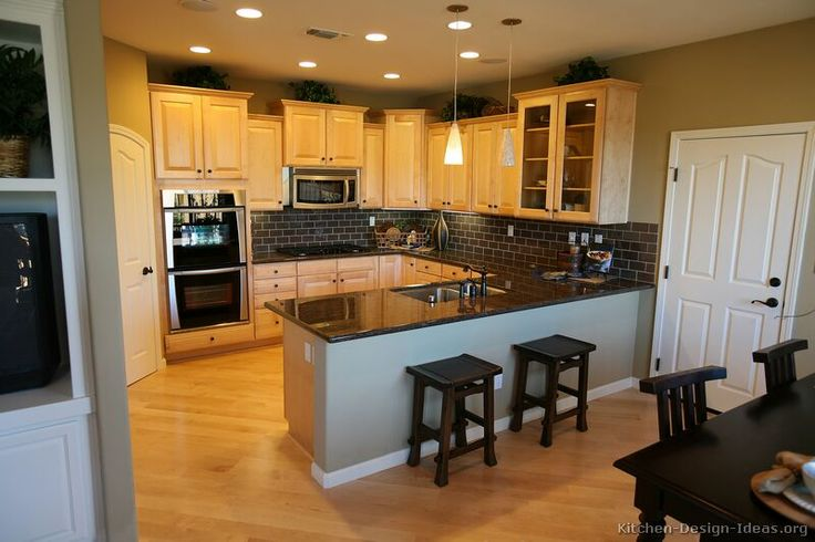 Google Image Result for http://www.kitchen-design-ideas.org/images/kitchen-cabinets-traditional-light-wood-010a-s1848778-clear-maple-wood-floor-peninsula-sink.jpg