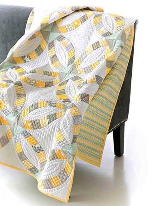 Metro Rings Quilt Pattern @Adrienne Raptis-To-Sew.com