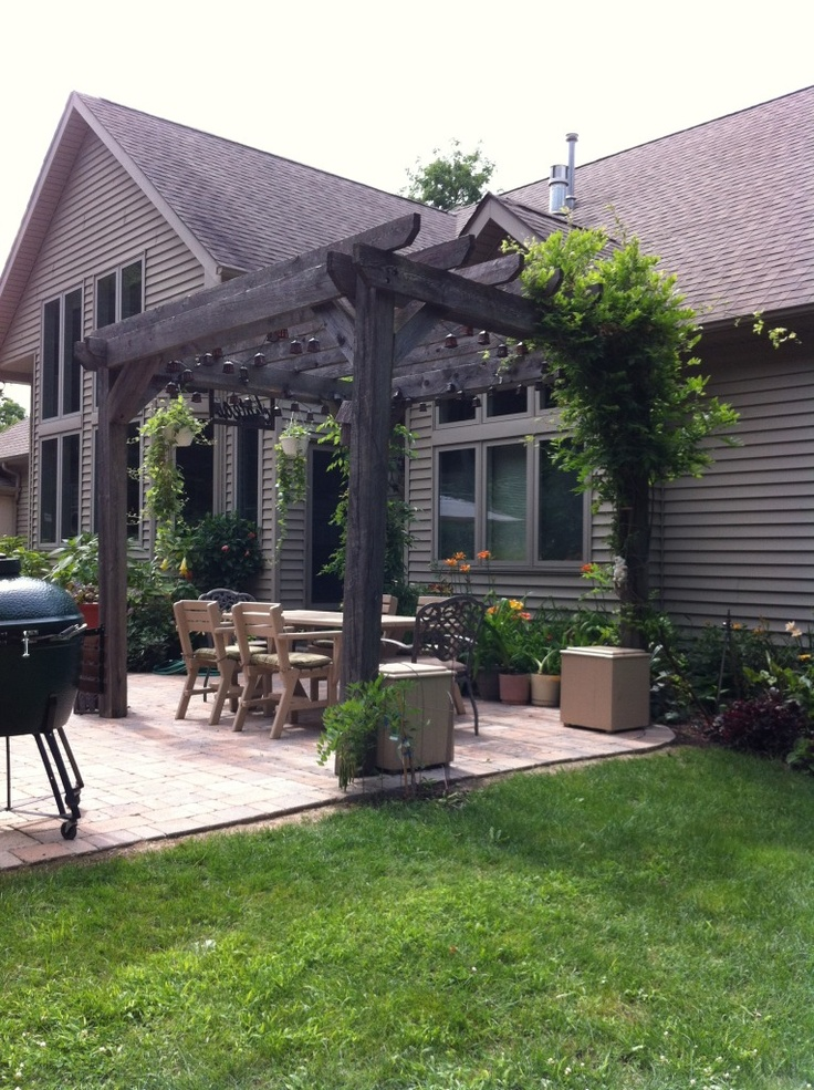 I wish the city would let me have an arbor like this: Patio, Photo