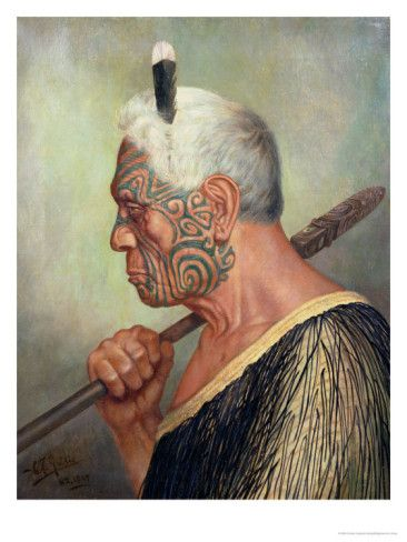 A Maori Warrior | by Charles Frederick Goldie (1870 - 1947.