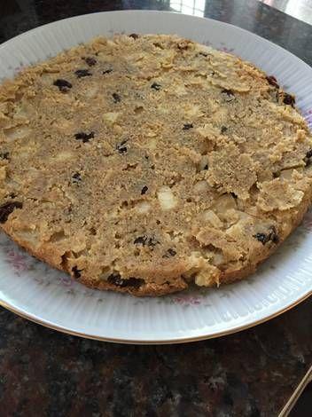 Tarta de avena y manzanas Pinterest ;) | https://pinterest.com/cocinadosiempre/
