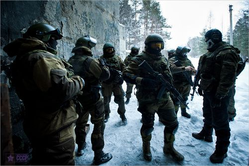 Russian Special Forces ..very tough guys... Not the best, but tough.....