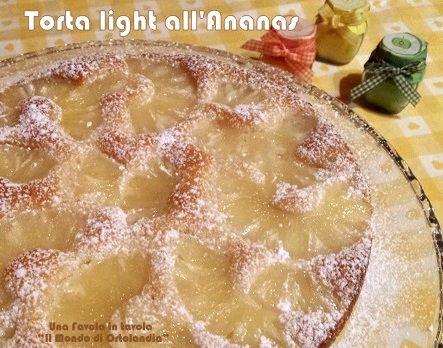 Una torta light senza uova, senza burro e senza latte, ottima per la colazione e la merenda di grandi e piccini!