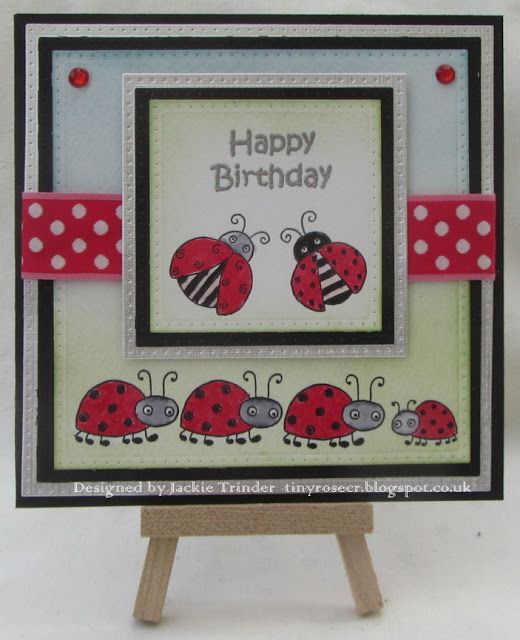 Tinyrose's Craft Room: Isobel  Craft Collection - New stamps - Ladybirds
