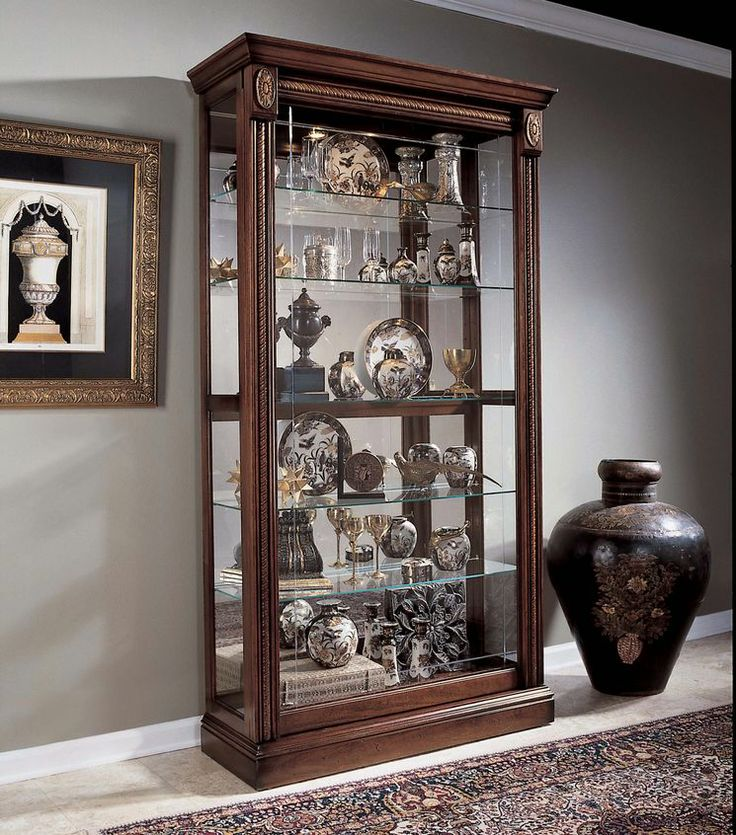 Keepsakes Curio Cabinet Furniture Cabinet Pulaski