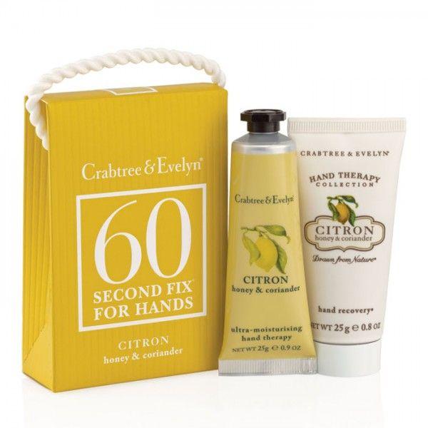Set ingrijire maini Citron #seturi #cosmetice #cadouri #cadourifemei #crabtreeevelyn