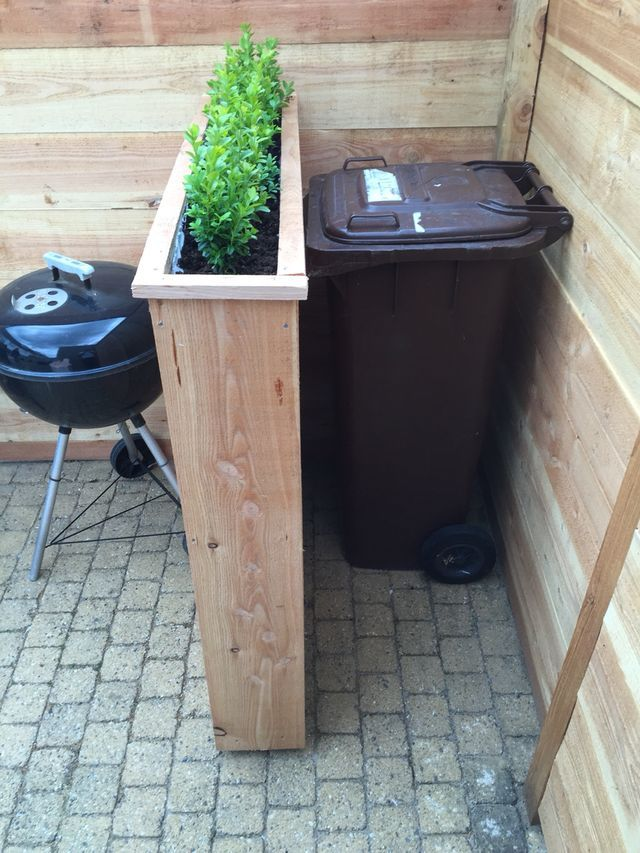 25 best ideas about hide trash cans on pinterest trash can covers trash pump and outdoor. Black Bedroom Furniture Sets. Home Design Ideas