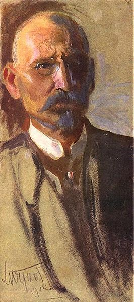 Selfportrait of Leon Wyczółkowski (1902)