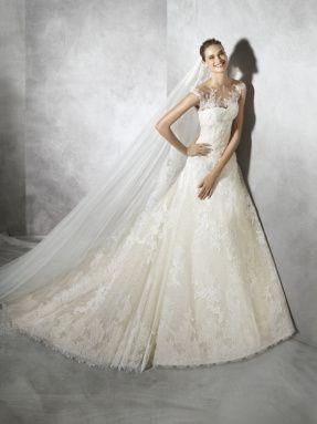 Svatební šaty Pronovias 2017 ve svatebním domě NUANCE. Model Tamia.