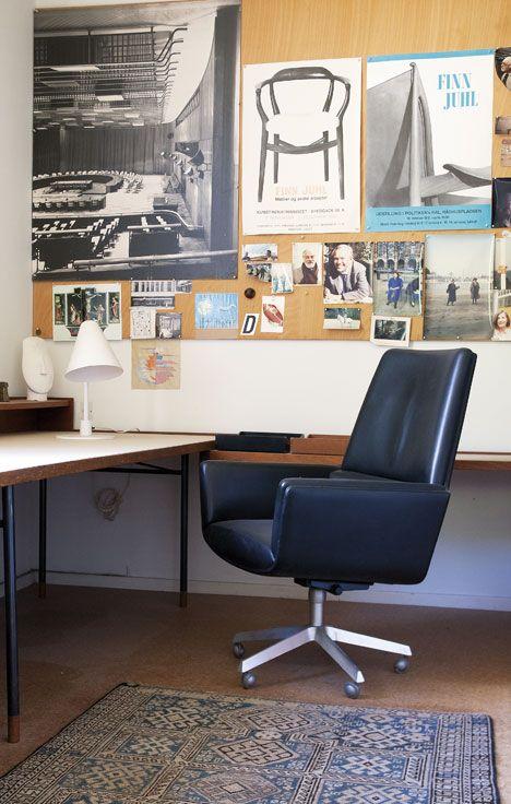 #home #office #workspace   Finn Juhl