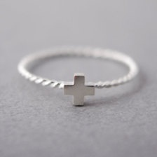 Rings - Etsy Jewelry I would wear this on my ring finger for sure. God is my true love.