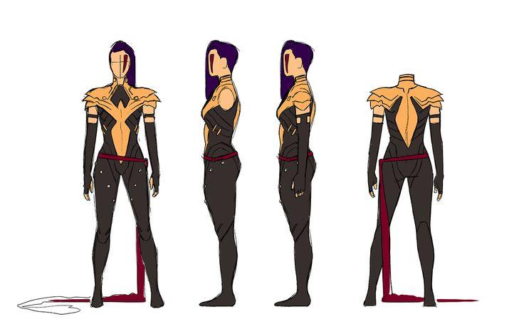 Kris Anka's Phoenix Psylocke design