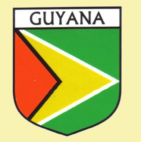For Everything Genealogy - Guyana Flag Country Flag Guyana Decals Stickers Set of 3, $15.00 (http://www.foreverythinggenealogy.com.au/guyana-flag-country-flag-guyana-decals-stickers-set-of-3/)