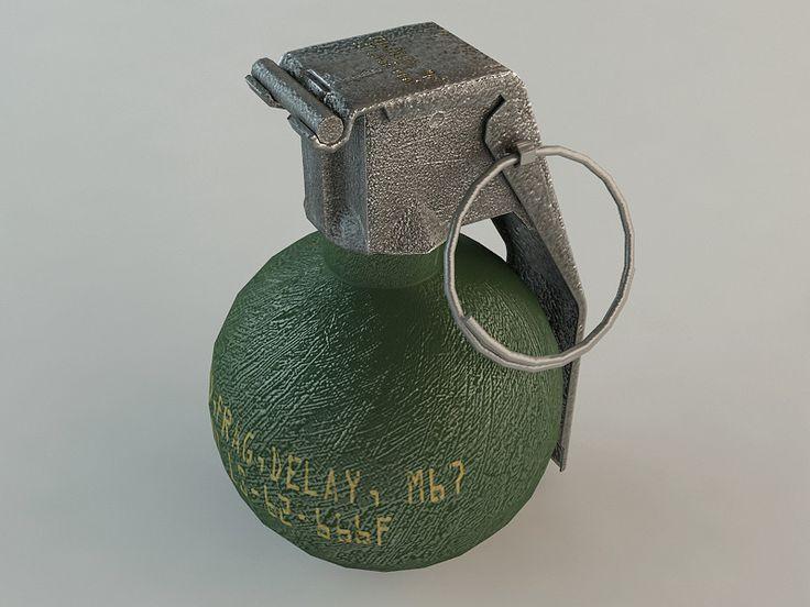 3ds m67 grenade