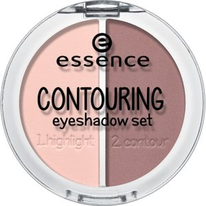 contouring eyeshadow set 01 mauve meets marshmallows - essence cosmetics