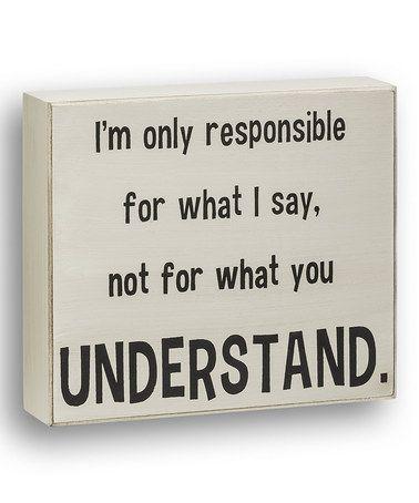 'Responsible'
