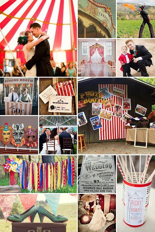 Vintage Circus Wedding Theme | Old World Carnaval Inspiration