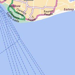 Carte détaillée Portsmouth - plan Portsmouth - ViaMichelin