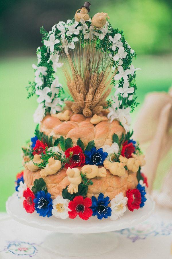 Braided bread cake  #wedding #weddinginspiration #engaged #weddings #aislesociety #realwedding