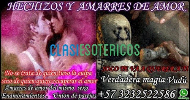 HECHIZOS Y AMARRES DE AMOR CON MAGIA VUDÚ, ATRAIGO EL AMOR, SEXO Y PASIÓN
