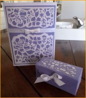 C&R-Designs: #179 Cadeaudoosje en kaart Ferrero Rocher