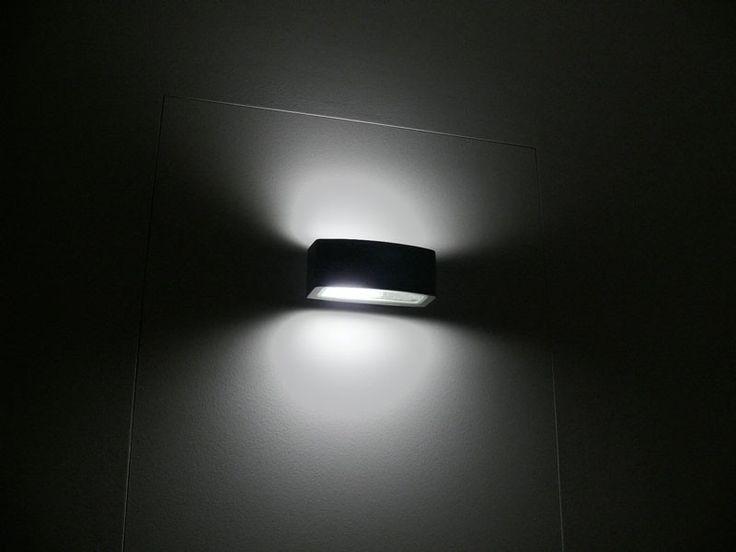 Wandleuchte, UpDown wide, IP54, E27, silbergrau, 10180 | Effektleuchten | Wandleuchten | Innenleuchten | KIOM24 Designlamps