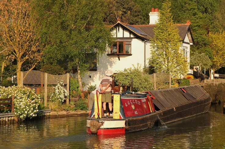 Grand Union Canal - Aylesbury Arm - Buckinghamshire - England