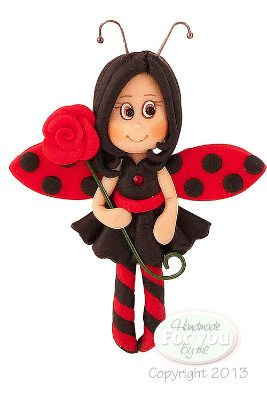 Lady bug fairy