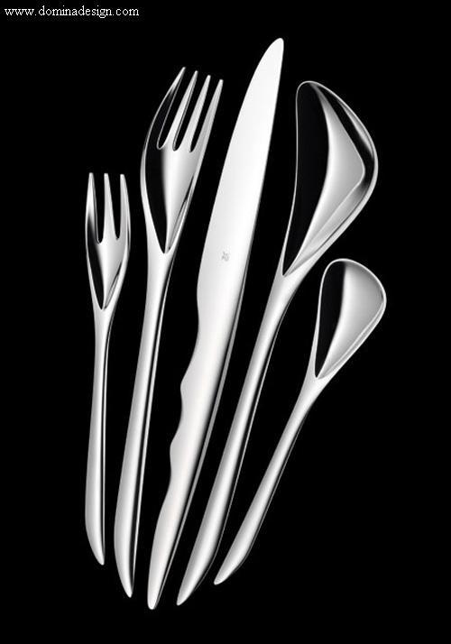 wmf cutlery collections zaha design zaha hadid art