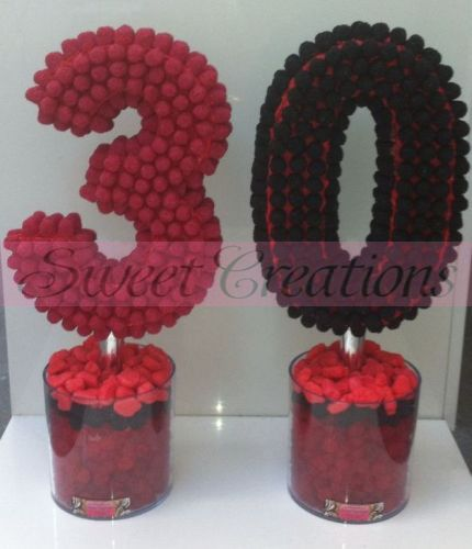 Number 30 Sweet Trees - Sweet Creations
