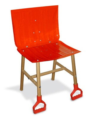 A very Canadian chair...lol