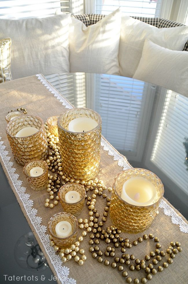 Best images about gold and burlap christmas on