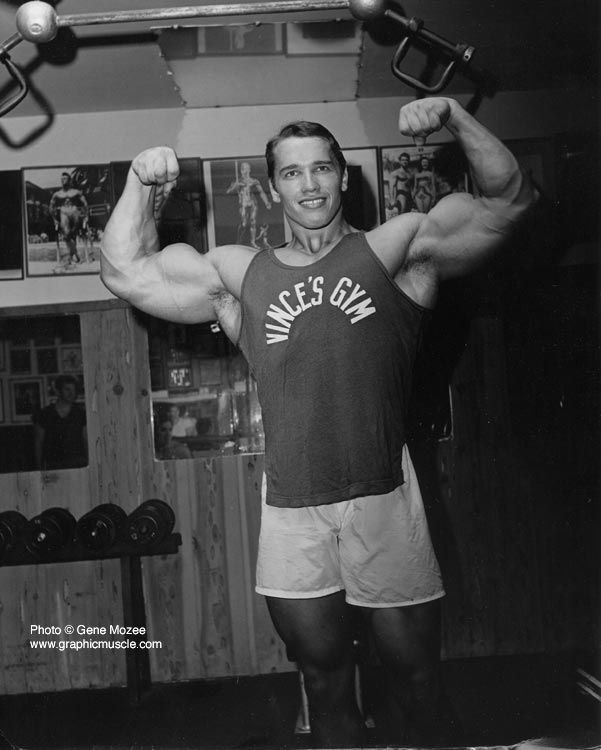 Arnold When He First Came To America Fitness Arnold